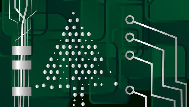 Circuit Christmas Tree